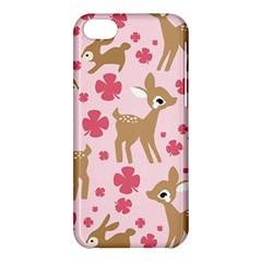 Preety Deer Cute Apple Iphone 5c Hardshell Case by Nexatart