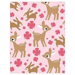 Preety Deer Cute Drawstring Bag (large) by Nexatart