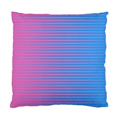 Turquoise Pink Stripe Light Blue Standard Cushion Case (one Side) by Mariart