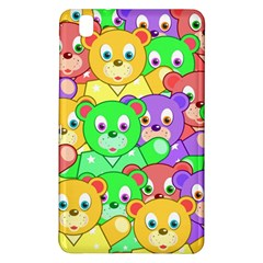 Cute Cartoon Crowd Of Colourful Kids Bears Samsung Galaxy Tab Pro 8 4 Hardshell Case by Nexatart