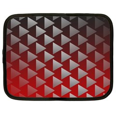 Netflix Play Button Pattern Netbook Case (XL)