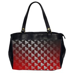 Netflix Play Button Pattern Office Handbags (2 Sides)  by Nexatart