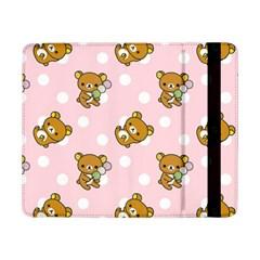 Kawaii Bear Pattern Samsung Galaxy Tab Pro 8 4  Flip Case