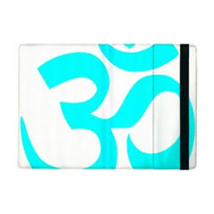 Hindu Om Symbol (cyan) Ipad Mini 2 Flip Cases by abbeyz71