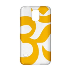 Aum Om Gold Samsung Galaxy S5 Hardshell Case  by abbeyz71