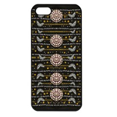 Pearls And Hearts Of Love In Harmony Apple Iphone 5 Seamless Case (black) by pepitasart
