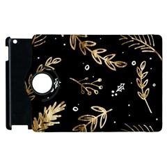 Kawaii Wallpaper Pattern Apple Ipad 2 Flip 360 Case by Nexatart