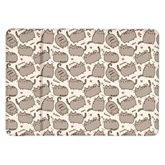 Pusheen Wallpaper Computer Everyday Cute Pusheen Samsung Galaxy Tab 8 9  P7300 Flip Case by Nexatart