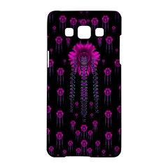 Wonderful Jungle Flowers In The Dark Samsung Galaxy A5 Hardshell Case  by pepitasart