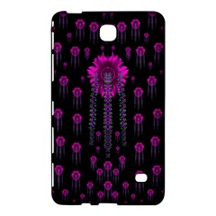 Wonderful Jungle Flowers In The Dark Samsung Galaxy Tab 4 (8 ) Hardshell Case  by pepitasart