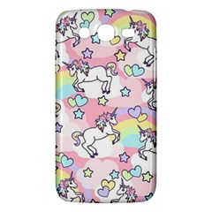 Unicorn Rainbow Samsung Galaxy Mega 5 8 I9152 Hardshell Case  by Nexatart