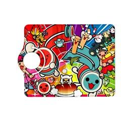 Cute Doodles Wallpaper Background Kindle Fire Hd (2013) Flip 360 Case by Nexatart