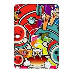 Cute Doodles Wallpaper Background Samsung Galaxy Tab Pro 12 2 Hardshell Case by Nexatart
