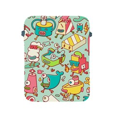 Summer Up Pattern Apple Ipad 2/3/4 Protective Soft Cases by Nexatart