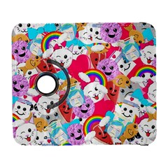 Cute Cartoon Pattern Galaxy S3 (flip/folio) by Nexatart