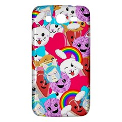 Cute Cartoon Pattern Samsung Galaxy Mega 5 8 I9152 Hardshell Case  by Nexatart