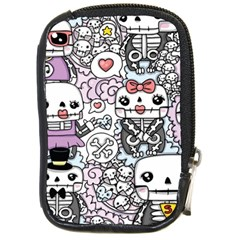 Kawaii Graffiti And Cute Doodles Compact Camera Cases by Nexatart