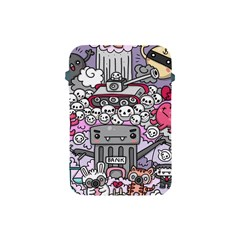 0 Sad War Kawaii Doodle Apple Ipad Mini Protective Soft Cases by Nexatart