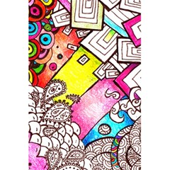 Beautiful Colorful Doodle 5 5  X 8 5  Notebooks by Nexatart