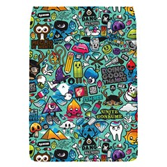 Colorful Drawings Pattern Flap Covers (s)  by Nexatart