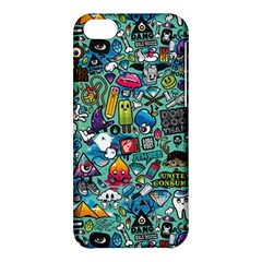 Colorful Drawings Pattern Apple Iphone 5c Hardshell Case by Nexatart