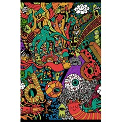 Monsters Colorful Doodle 5 5  X 8 5  Notebooks by Nexatart