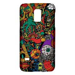 Monsters Colorful Doodle Galaxy S5 Mini by Nexatart