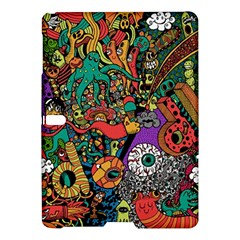 Monsters Colorful Doodle Samsung Galaxy Tab S (10 5 ) Hardshell Case  by Nexatart