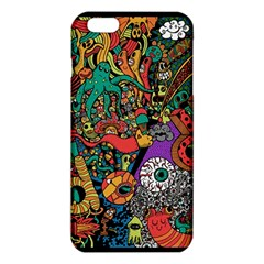 Monsters Colorful Doodle Iphone 6 Plus/6s Plus Tpu Case by Nexatart