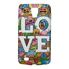Doodle Art Love Doodles Galaxy S4 Active by Nexatart