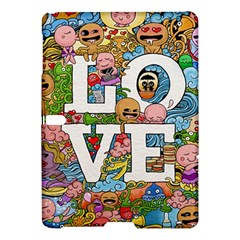 Doodle Art Love Doodles Samsung Galaxy Tab S (10 5 ) Hardshell Case  by Nexatart