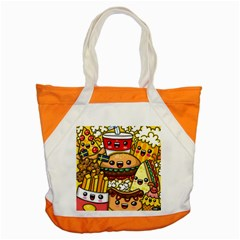 Cute Food Wallpaper Picture Accent Tote Bag by Nexatart