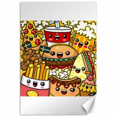 Cute Food Wallpaper Picture Canvas 20  X 30   by Nexatart