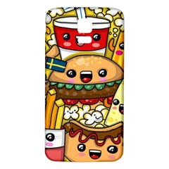 Cute Food Wallpaper Picture Samsung Galaxy S5 Back Case (white) by Nexatart