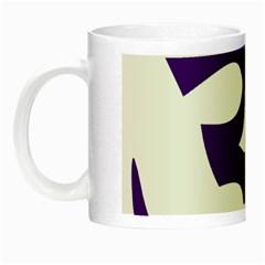 Hindu Om Symbol (purple) Night Luminous Mugs by abbeyz71