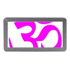 Hindu Om Symbol (magenta) Memory Card Reader (mini) by abbeyz71