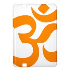 Hindu Om Symbol (orange) Kindle Fire Hd 8 9  by abbeyz71