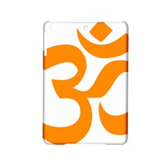 Hindu Om Symbol (orange) Ipad Mini 2 Hardshell Cases by abbeyz71