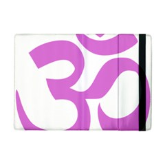 Hindu Om Symbol (bright Purple) Ipad Mini 2 Flip Cases by abbeyz71