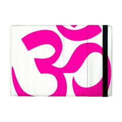 Hindu Om Symbol (pink) Ipad Mini 2 Flip Cases by abbeyz71