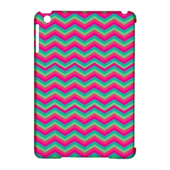 Retro Pattern Zig Zag Apple Ipad Mini Hardshell Case (compatible With Smart Cover) by Nexatart