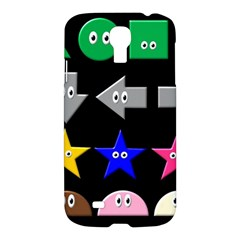 Cute Symbol Samsung Galaxy S4 I9500/i9505 Hardshell Case by Nexatart