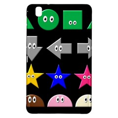 Cute Symbol Samsung Galaxy Tab Pro 8 4 Hardshell Case by Nexatart