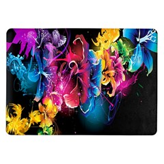 Abstract Patterns Lines Colors Flowers Floral Butterfly Samsung Galaxy Tab 10 1  P7500 Flip Case by Mariart