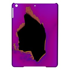 Buffalo Fractal Black Purple Space Ipad Air Hardshell Cases by Mariart