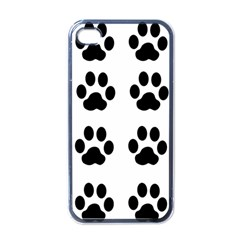 Claw Black Foot Chat Paw Animals Apple Iphone 4 Case (black) by Mariart