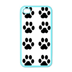 Claw Black Foot Chat Paw Animals Apple Iphone 4 Case (color) by Mariart