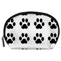 Claw Black Foot Chat Paw Animals Accessory Pouches (large)  by Mariart