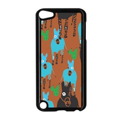 Zebra Horse Animals Apple Ipod Touch 5 Case (black) by Mariart