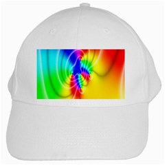 Complex Orange Red Pink Hole Yellow Green Blue White Cap by Mariart